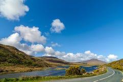 Sceniczny natury connemara krajobraz od zachodu Ireland Obrazy Royalty Free
