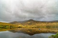 Sceniczny natury connemara krajobraz od zachodu Ireland Zdjęcia Royalty Free