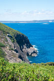 Sceniczny Południowy widok na ocean w Zachodnim przylądka Howe parku narodowym blisko Albany Obrazy Stock