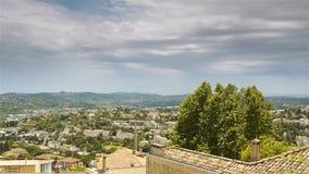 Sceniczny przegląd Grasse, Cote D'Azur Francja zdjęcie wideo