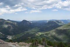 Sceniczny przegląd Skaliste góry, Kolorado obrazy royalty free