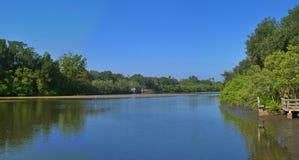 sceniczny przypływu creek Zdjęcie Stock