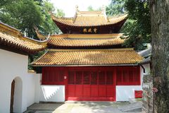 Sceniczny punkt langshan w Nantong, Jiangsu prowincja, Chiny Zdjęcia Royalty Free