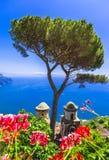 Sceniczny Ravello, Włochy obrazy stock