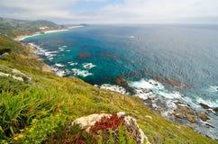 Sceniczny Vista na Kalifornia stanu trasie 1 Fotografia Stock