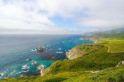 Sceniczny Vista na Kalifornia stanu trasie 1 Obrazy Stock