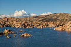 Sceniczny Watson jeziora krajobrazu prescott Arizona Obrazy Royalty Free