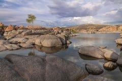Sceniczny Watson Jeziorny prescott Arizona Zdjęcia Stock