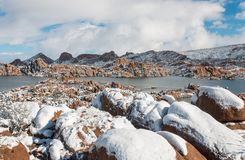 Sceniczny Watson Jeziorny prescott Arizona Obrazy Royalty Free