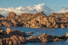 Sceniczny Watson Jeziorny prescott Arizona Fotografia Royalty Free