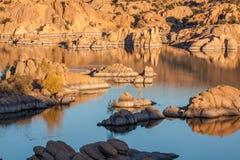 Sceniczny Watson odbicia Jeziorny krajobraz Obrazy Royalty Free