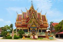 Sceniczny widok buddyjskiej świątyni budynek Fotografia Stock