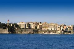 Sceniczny widok Corfu Obraz Royalty Free