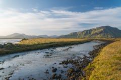 Sceniczny widok Iceland krajobraz obrazy royalty free