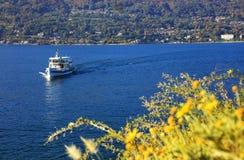 Sceniczny widok Isola Madre na Lago Maggiore, Północny Włochy, Europa Fotografia Royalty Free