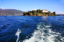 Sceniczny widok Isola Madre na Lago Maggiore, Północny Włochy, Europa Zdjęcia Royalty Free