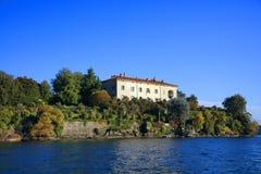 Sceniczny widok Isola Madre na Lago Maggiore, Północny Włochy, Europa Zdjęcie Stock