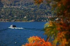 Sceniczny widok Isola Madre na Lago Maggiore, Północny Włochy, Europa Fotografia Stock