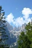 Sceniczny widok lato góry Obrazy Royalty Free