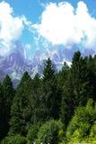 Sceniczny widok lato góry Fotografia Stock