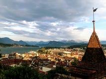 Sceniczny widok lucerna zdjęcia royalty free