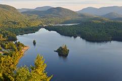Sceniczny widok na od góry Obrazy Royalty Free