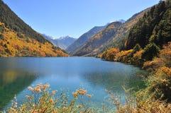 Sceniczny widok Nosorożec jezioro Fotografia Stock