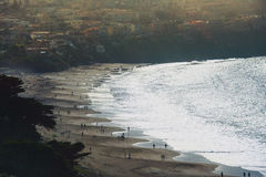 Sceniczny widok piekarz plaża Obrazy Royalty Free