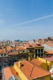 Sceniczny widok Porto miasto Obrazy Royalty Free