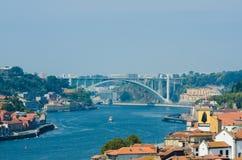 Sceniczny widok Porto miasto Obraz Royalty Free