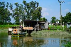 Sceniczny widok riverbank Zdjęcie Stock