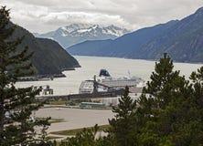 Sceniczny widok Skagway Fotografia Royalty Free