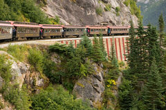 scenisk alaska järnväg Royaltyfria Bilder