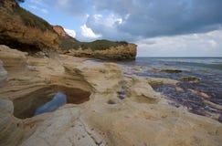 scenisk atlantisk liggande Fotografering för Bildbyråer
