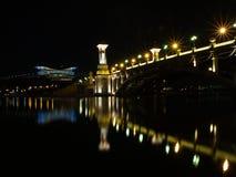 scenisk bro royaltyfria foton
