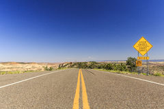 Scenisk Byway 12, Utah, USA Fotografering för Bildbyråer