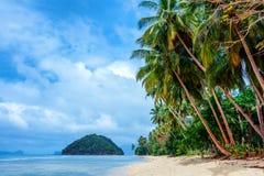 Scenisk El-nido, Palawan, Filippinerna Arkivfoton