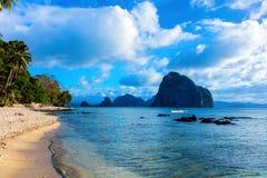 Scenisk El-nido, Palawan, Filippinerna Fotografering för Bildbyråer