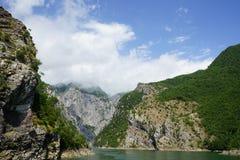 Scenisk Fjord Arkivfoto