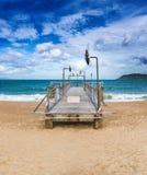 Scenisk härlig sikt av den Nha Trang stranden arkivbilder