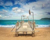 Scenisk härlig sikt av den Nha Trang stranden royaltyfria bilder