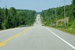 scenisk huvudväg Royaltyfria Bilder