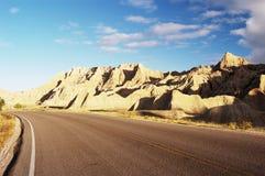 scenisk huvudväg Royaltyfri Foto