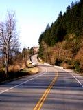 scenisk huvudväg Arkivfoto