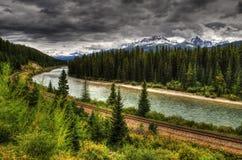 scenisk järnväg Royaltyfri Foto