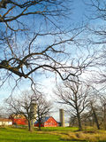 Scenisk lantgård Royaltyfria Foton