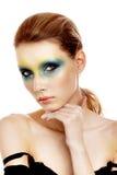 scenisk makeupprofessionell Royaltyfri Bild