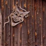 Scenisk maskering för komedi royaltyfria bilder