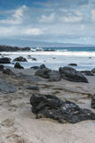 Scenisk Maui Shoreline Arkivbild