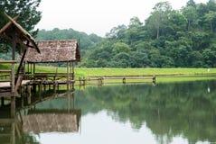 Scenisk punkt på Pang Aung Royaltyfri Fotografi